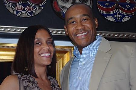 Anne Arceneaux and Jay Williams