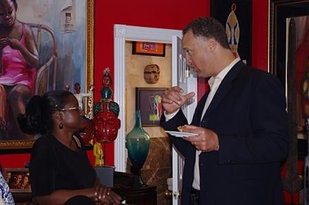 Dr. Evette Kincaid and Johnathan Lloyd