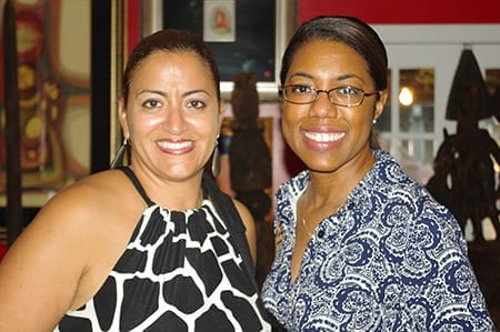 Drs. Karen Hill and Kelly Coleman